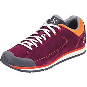 Haglöfs Roc Lite Shoes Damen aubergine/habanero